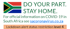 South African Government COVID-19 Portal